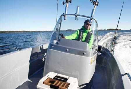 Компоновка катера «Yamarin Cross 53CC»