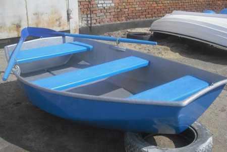 Лодка «Спрей 230» с пластиковыми банками