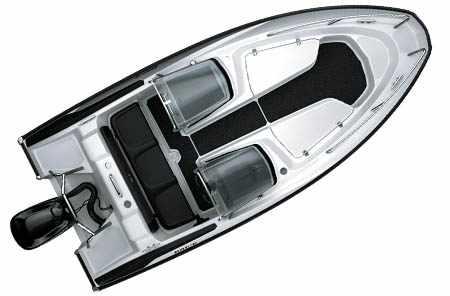 Компоновка лодки «Drive Open 46»
