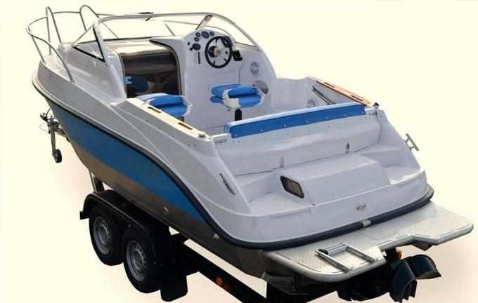 Компоновка катера «Vigor 620»