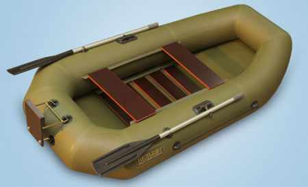 Реечный настил в лодке Камыш 2500