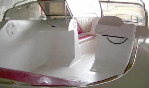 Консоли лодки «Темп 550»