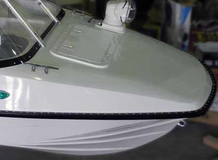 Носовая палуба лодки «Сибирь 460»