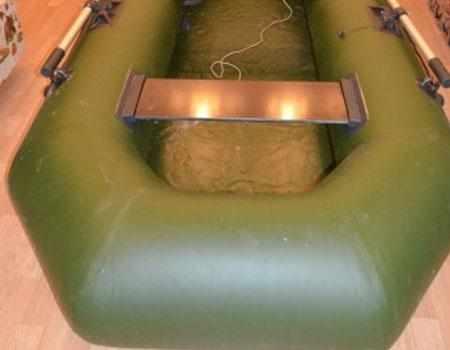 Конструкция кормовой части лодки «Оникс 260G»