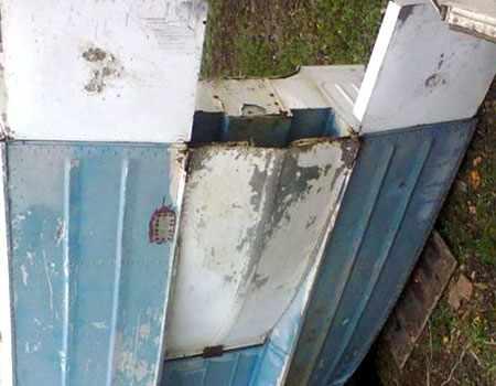 Установка гидрощитка и транцевых плит на лодку Дон