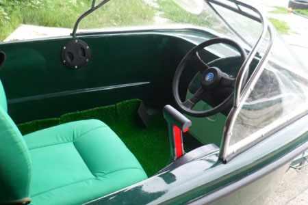 Лодка «Мурена Люкс» с рулевым управлением