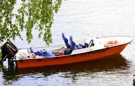Облегченная модель лодки «Чайка ТН»