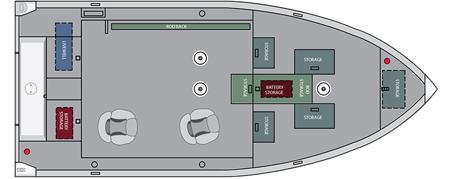 Лодка «Alumacraft Competitor 165 Tiller»