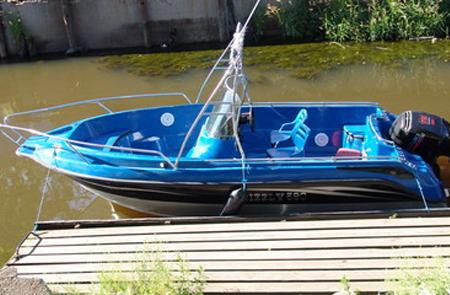 Лодка «Гризли 580 fisherman»