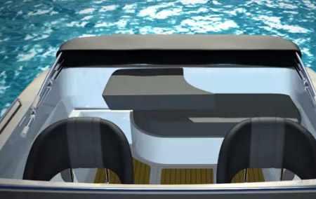 Задний диван лодки «Phoenix 530HT»