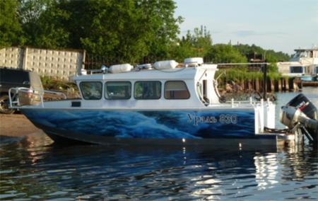 Лодка Уралъ 831