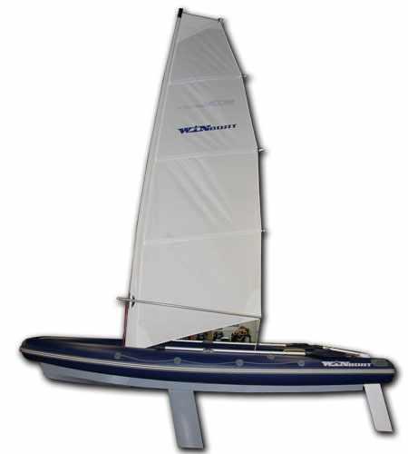 Лодка Winboat 460RF Sprint Sail в сборе