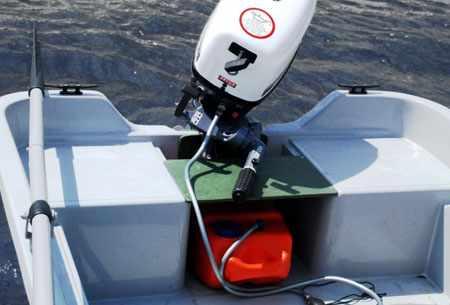 Кормовое сиденье на лодке «Scandic Eving 285»