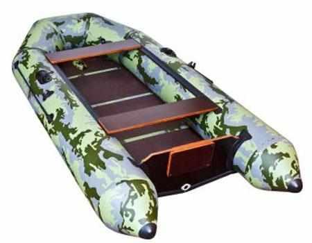 Надувная лодка Вятка ВМ-280. Конструкция