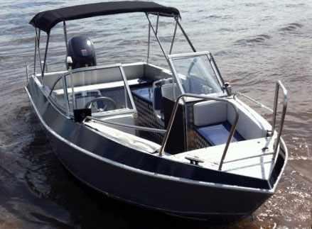 Двухконсольная лодка Волжанка 57