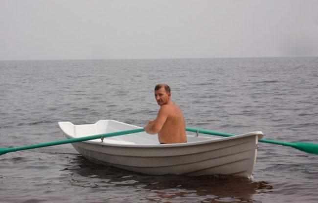 Лодка «Онего 420» на воде
