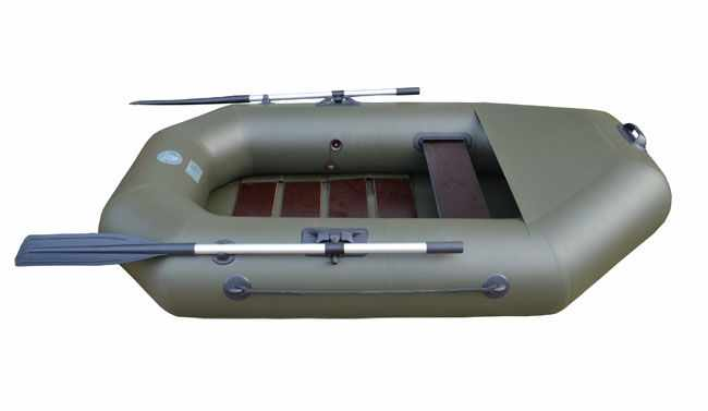 Комплектация лодки «Альфа 22» со сланью и фартуком
