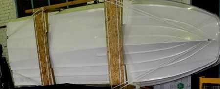 Днище лодки «Сибирь 460»