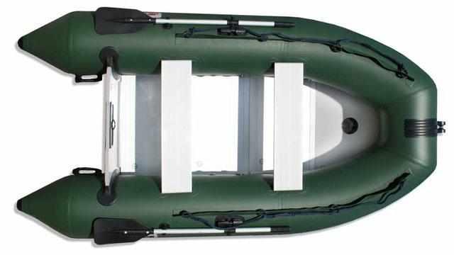 Надувная лодка «JetForce 300» в зеленом цвете