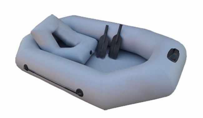 Надувная лодка «Альфа 22» с гребками