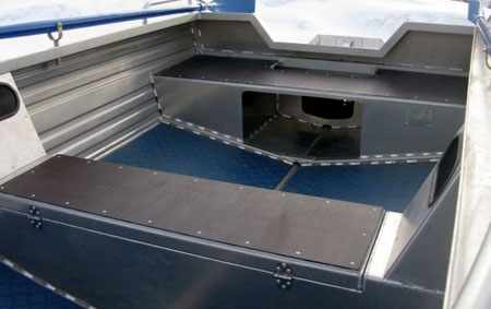 Кокпит лодки «Аллюр 36»