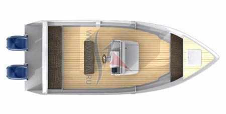 Моторная лодка «Охта 21 WCC»