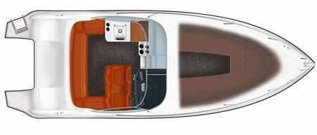 Компоновка лодки Velvette 24