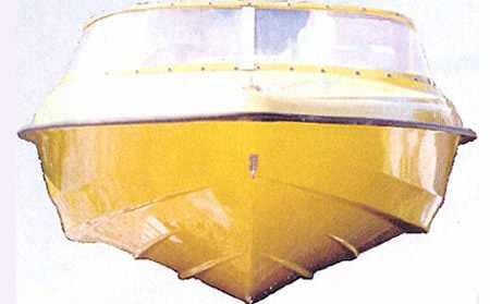 Корпус лодки «SAVA Viking 420 Compact»