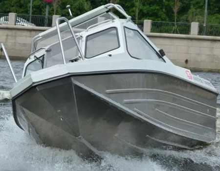 Конструкция днища лодки «Мастер 540 НТ»