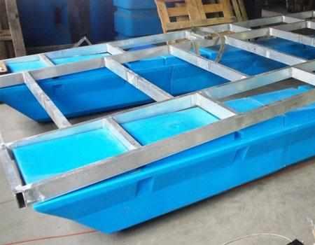 Каркас палубы из металла