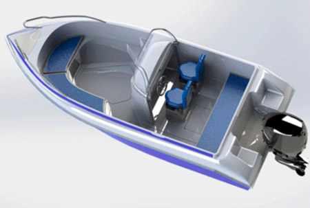 Компоновка лодки Prime 520