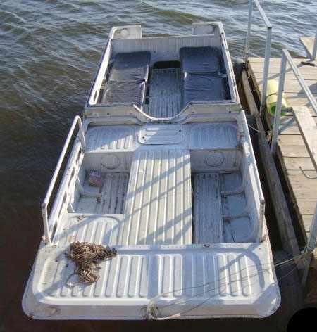 Компоновка лодки Дон в сборе
