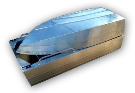 Моторная лодка «Уралъ 430» (Стрежень) в сложенном состоянии