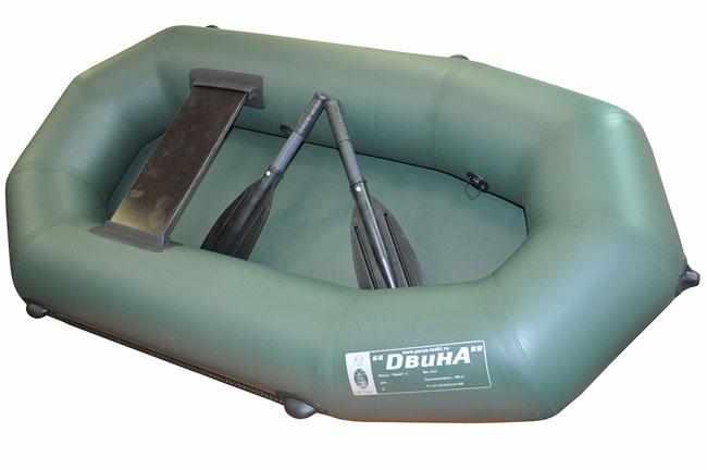Конструкция надувной лодки «Двина 1»