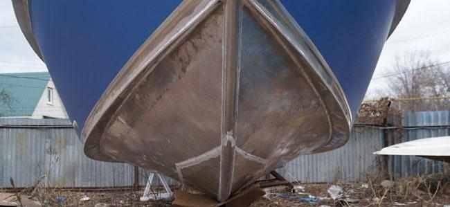 Усиленное днище лодки «Самара 820 Т»