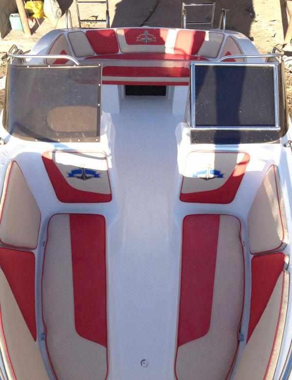 Компоновка лодки «Темп 550»