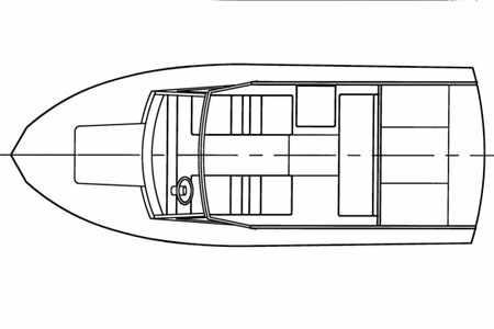 Компоновка катера «Томь 605»