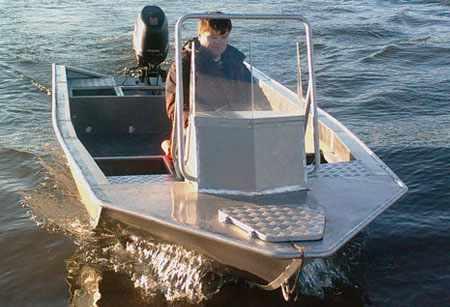 Корпус рыболовной лодки RusBoat 50