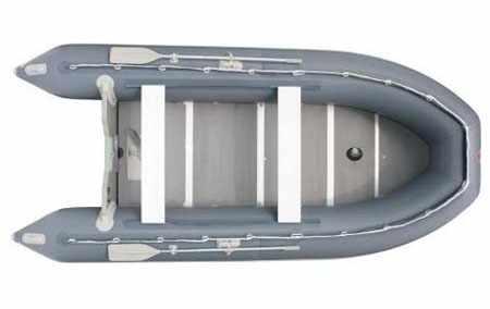 Компоновка надувной лодки «Yukona 400»