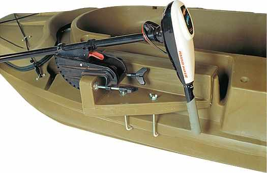 Крепление мотора на лодку Badger 1200 Stealth
