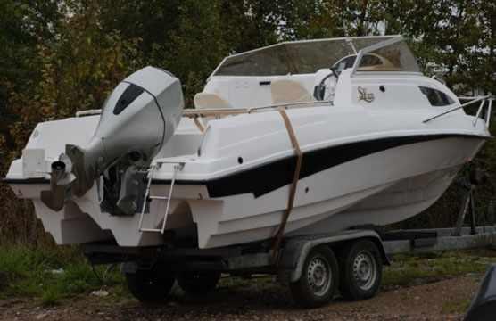 Корма лодки «SF 620»