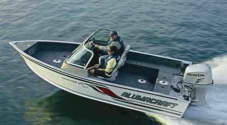 Лодка «Alumacraft Navigator 165 Sport»