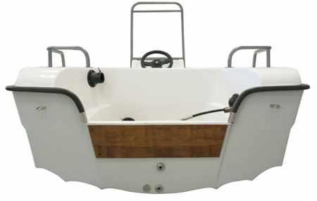 Днище лодки «Lokki 410»
