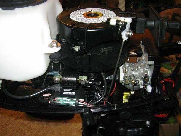 Лодочный мотор Ниссан Марин 9.8