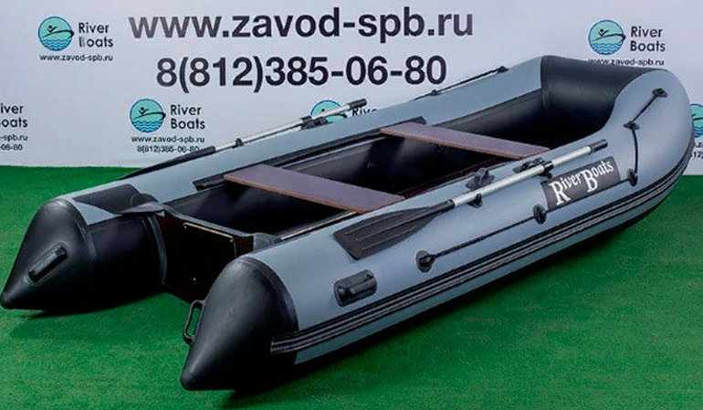 ПВХ лодка Riverboats RB-350 НДНД килевая