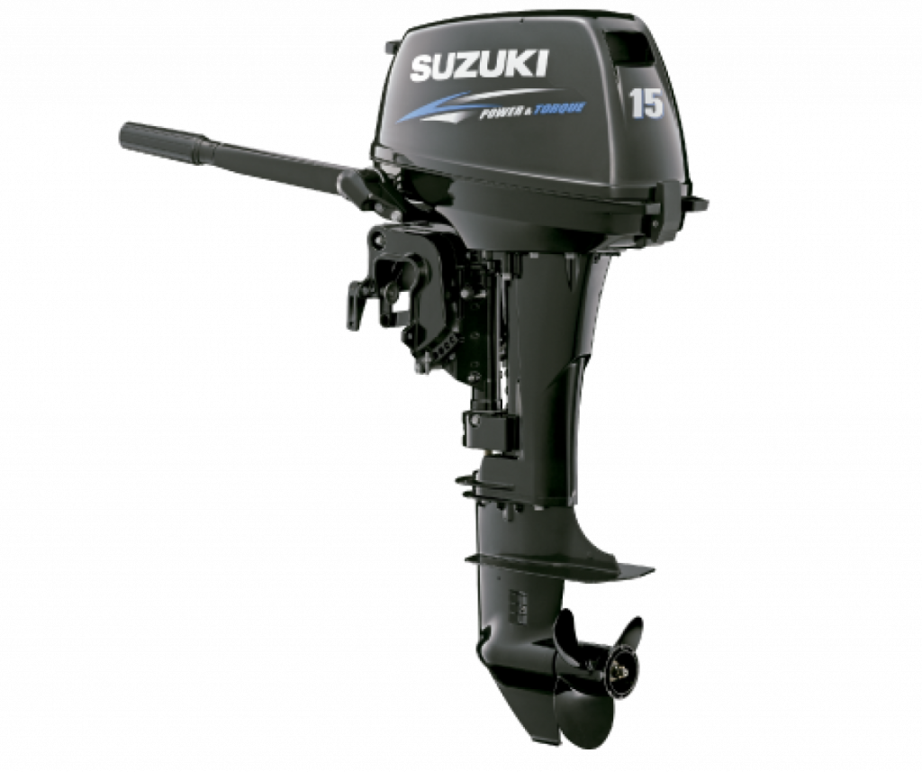 Suzuki DT15S подвесной лодочный мотор