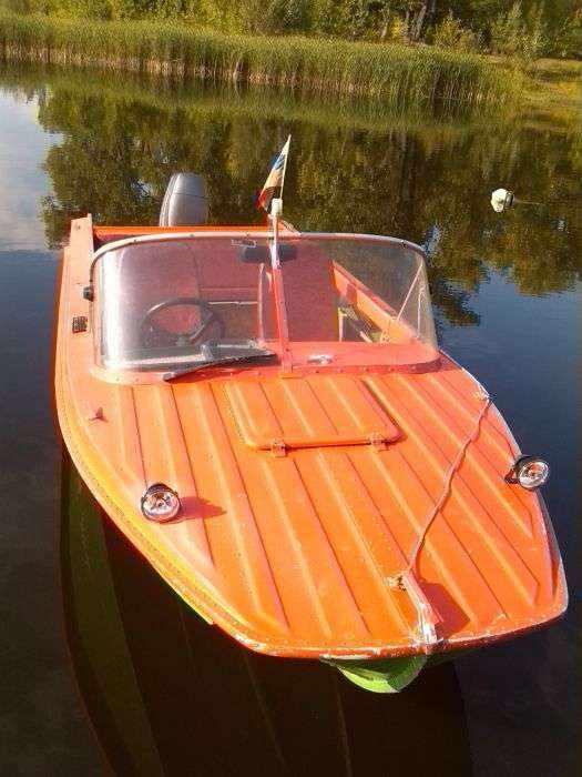 Мотороная лодка «Казанка 5м4»