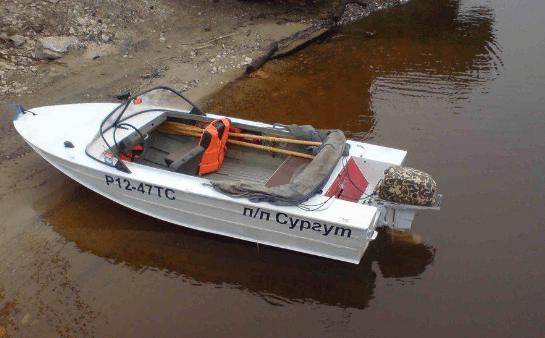 Лодка Днепр фото