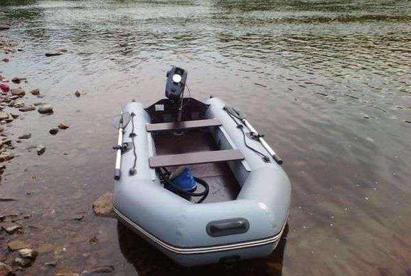 Лодка ПВХ Хантер 320 ЛК НДНД под мотор