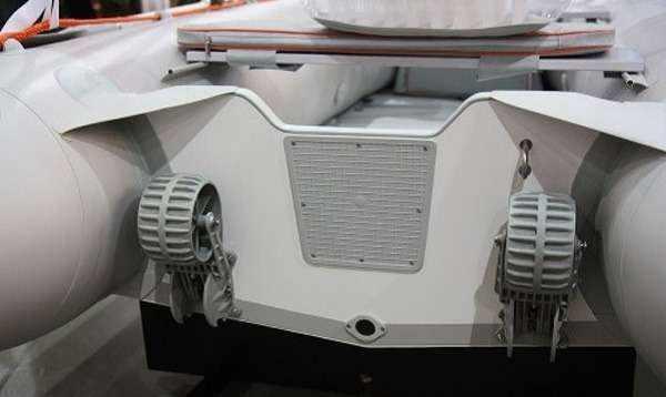 Пластиковые транцевые колеса